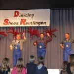 Faschingsball Dancing Shoes-Männerballett