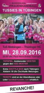Tussies gegen Thüringer