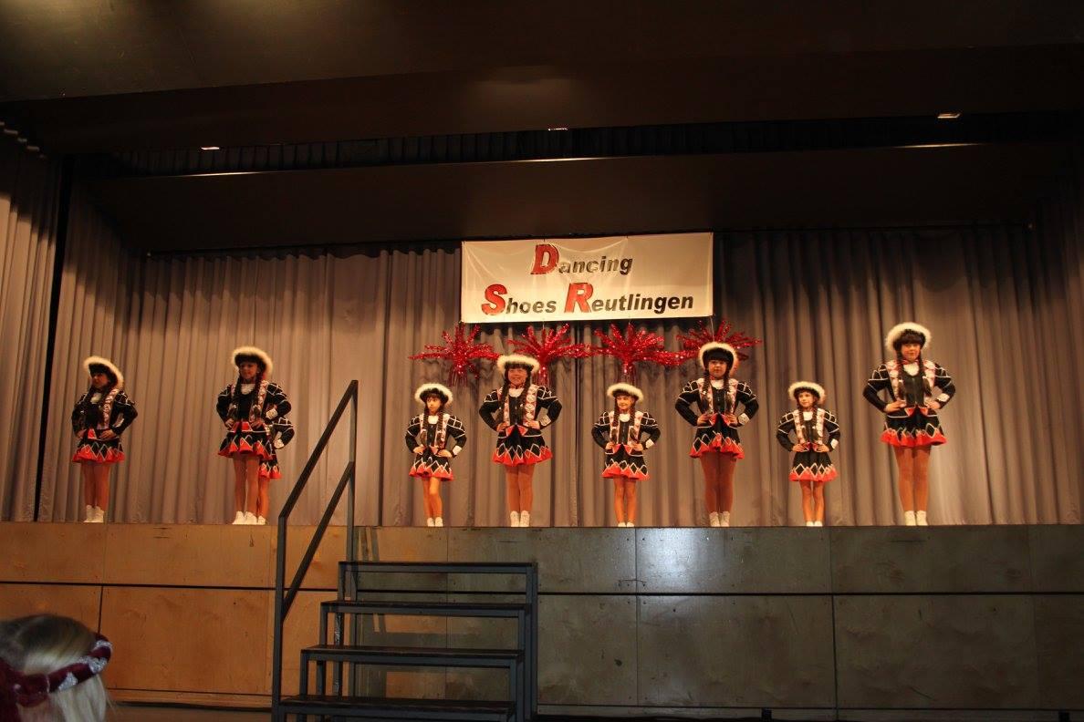 Faschingsball Dancing Shoes-Kinderstadtgarde